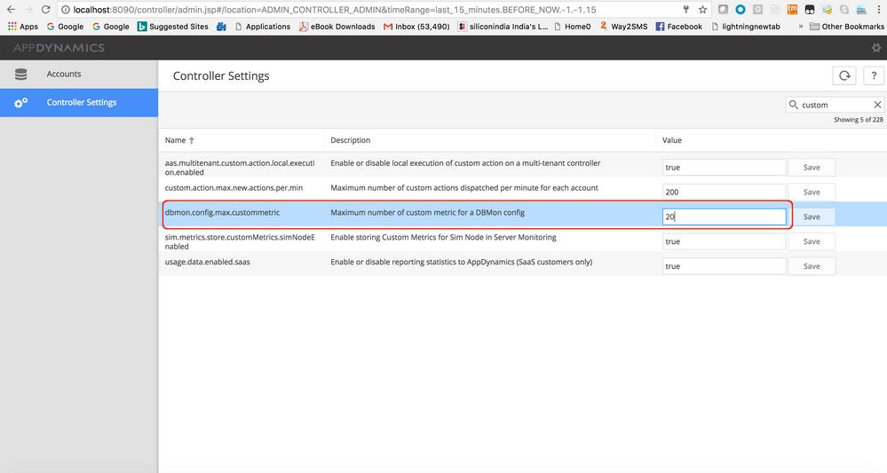 Configure custom metrics