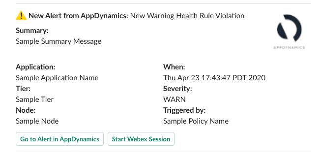 Test Health Rule violation warningng