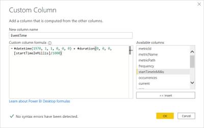 Create DataTime column out of Unix timestamp