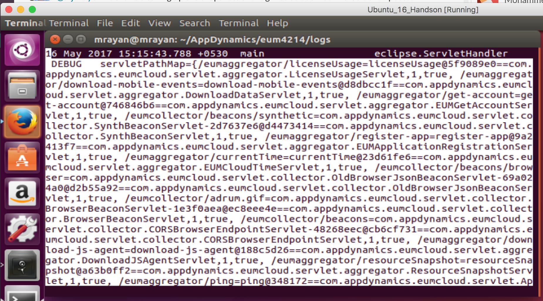 debug logger example