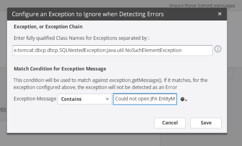 Configure an exception to ignore the error.png