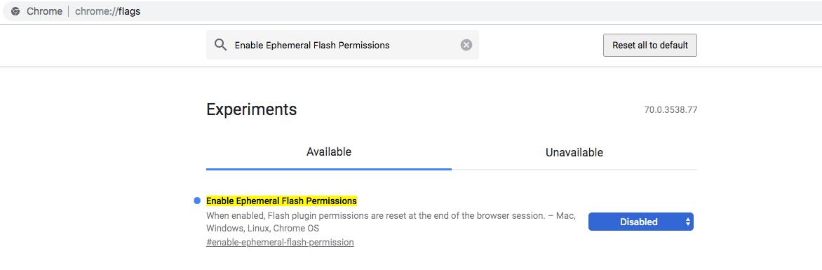 adobe flash player chrome mac os