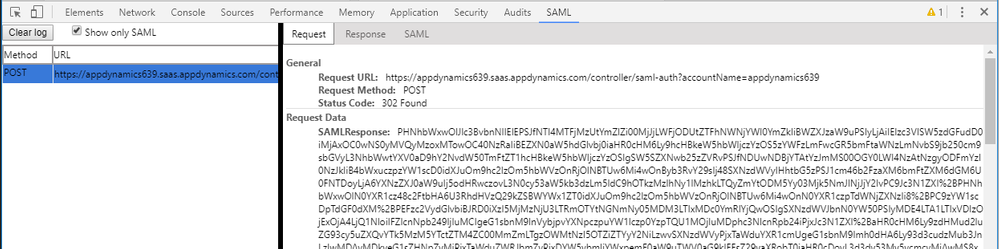 25 send to appd controller in SAML token.png